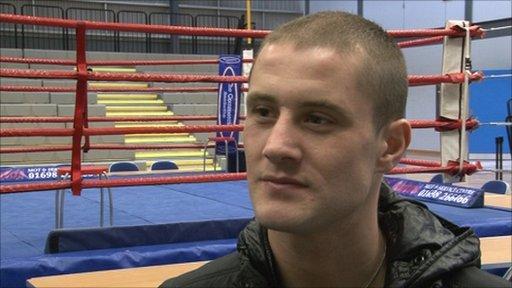 WBO super-featherweight champion Ricky Burns