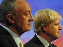 Ken Livingstone and Boris Johnson