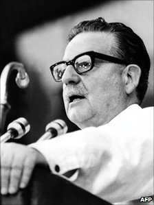 Salvador Allende - file photo from February 1973