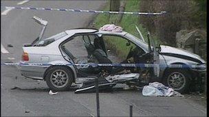 Rosemary Nelson's car