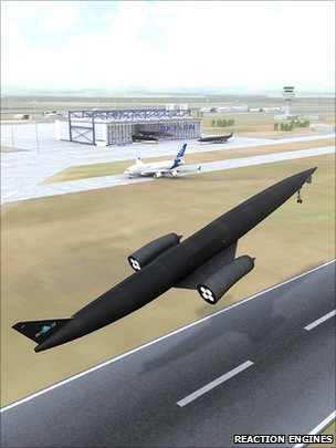 Skylon concept (Reaction Engines)