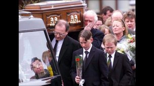 Rosemary Nelson's funeral