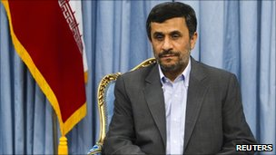 Iranian President Mahmoud Ahmadinejad (22 May 2011)