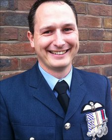 Flight Lieutenant Alex Duncan