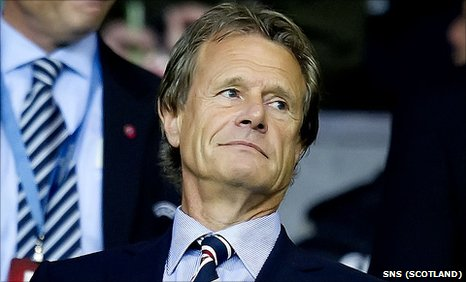 Former Rangers chairman Alastair Johnston