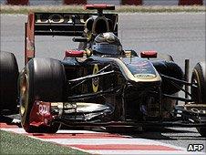 Renault's Nick Heidfeld