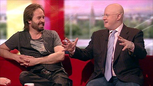 Alfie Boe and Matt Lucas