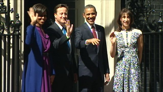Michelle Obama, David Cameron, Barack Obama, Samantha Cameron