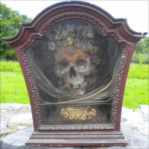 St Vitalis skull