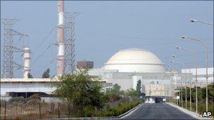 Iran's Bushehr nuclear power plant (file image from August 2010)