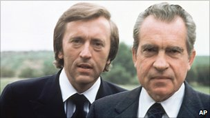 David Frost and Richard Nixon