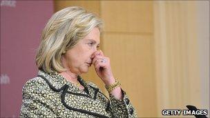 Hillary Clinton, 24 May