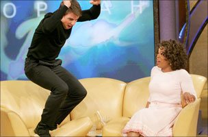 Tom Cruise and Oprah Winfrey