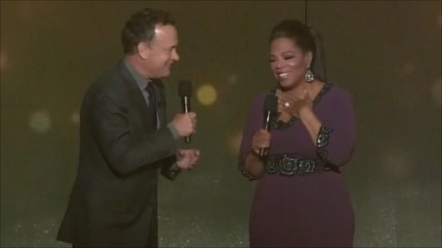 Tom Hanks and Oprah Winfrey