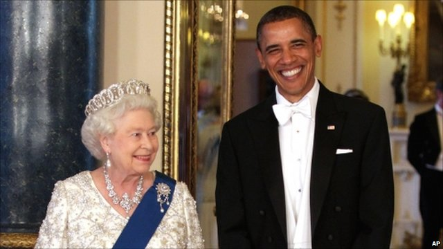 The Queen and President Obama
