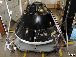 Orion/MPCV ground test article (Nasa)