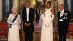 The Queen, President Obama, Michele Obama, Prince Philip