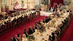 State Banquet in Buckingham Palace in honour of US President Barack Obama