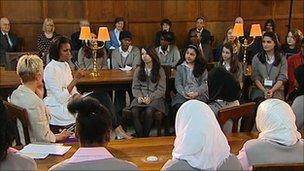 Michelle Obama at Oxford University