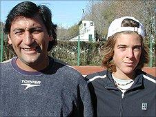 Marcelo Gomez and Juan Martin del Potro