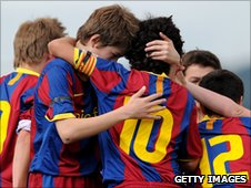 Barcelona youth academy