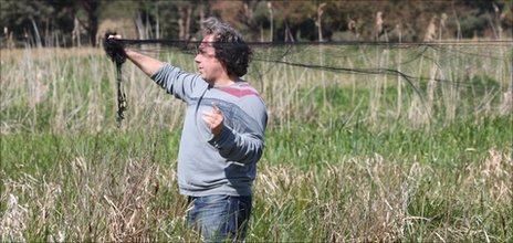 BTO scientist sets up a cuckoo net