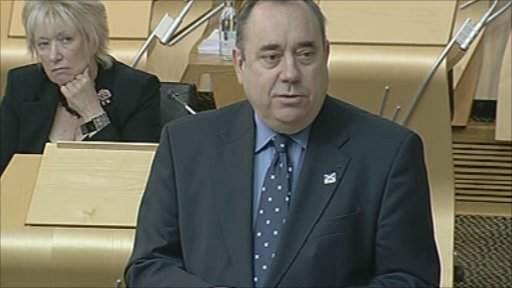 First Minister Alex Salmond outlines his vision for the next five years of SNP government.