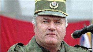 Ratko Mladic in Bosnia, 1995