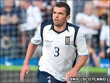 Scotland defender Callum Davidson