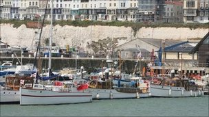 The little ships in Ramsgate