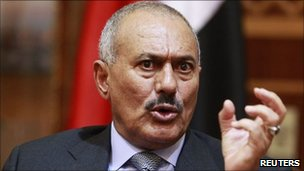 President Ali Abdullah Saleh, 25 May 2011