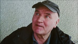Gen Ratko Mladic as an old man (undated image)