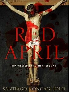 Red April book jacket