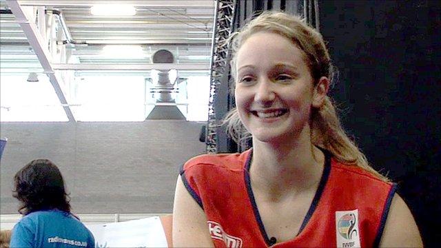 Team GB basketballer Amy Conroy