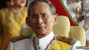 King Bhumibol Adulyadej (Photo Courtesy of BBC News)