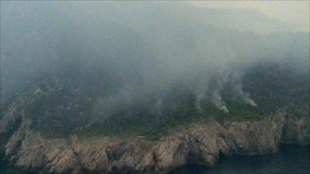 Ibiza fires