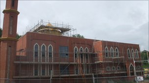 New mosque in Redditch