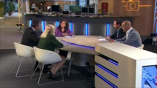 Shirin Wheeler with guests