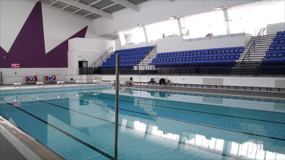 Bbc news in pictures billingham forum to reopen Family hotels belfast swimming pool