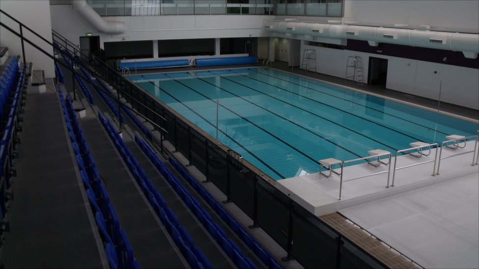 Bbc news in pictures billingham forum to reopen Public swimming pools in stockton