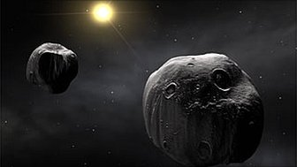 Binary asteroid (MarcoPolo-R)