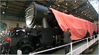 The restored Flying Scotsman