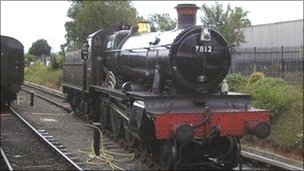Severn Valley Railway engine - archive image