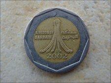 Bahraini coin