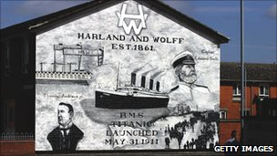 Mural in Newtonards, near Belfast