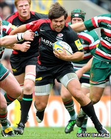Schalk Brits on the attack for Leicester