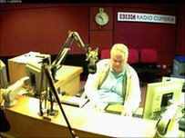 BBC Radio Cumbria studio A