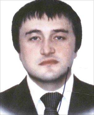 Rustam Makhmudov (image from Interpol)