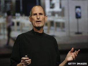 Apple's CEO Steve Jobs