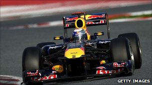 Formula 1 Red Bull racing team